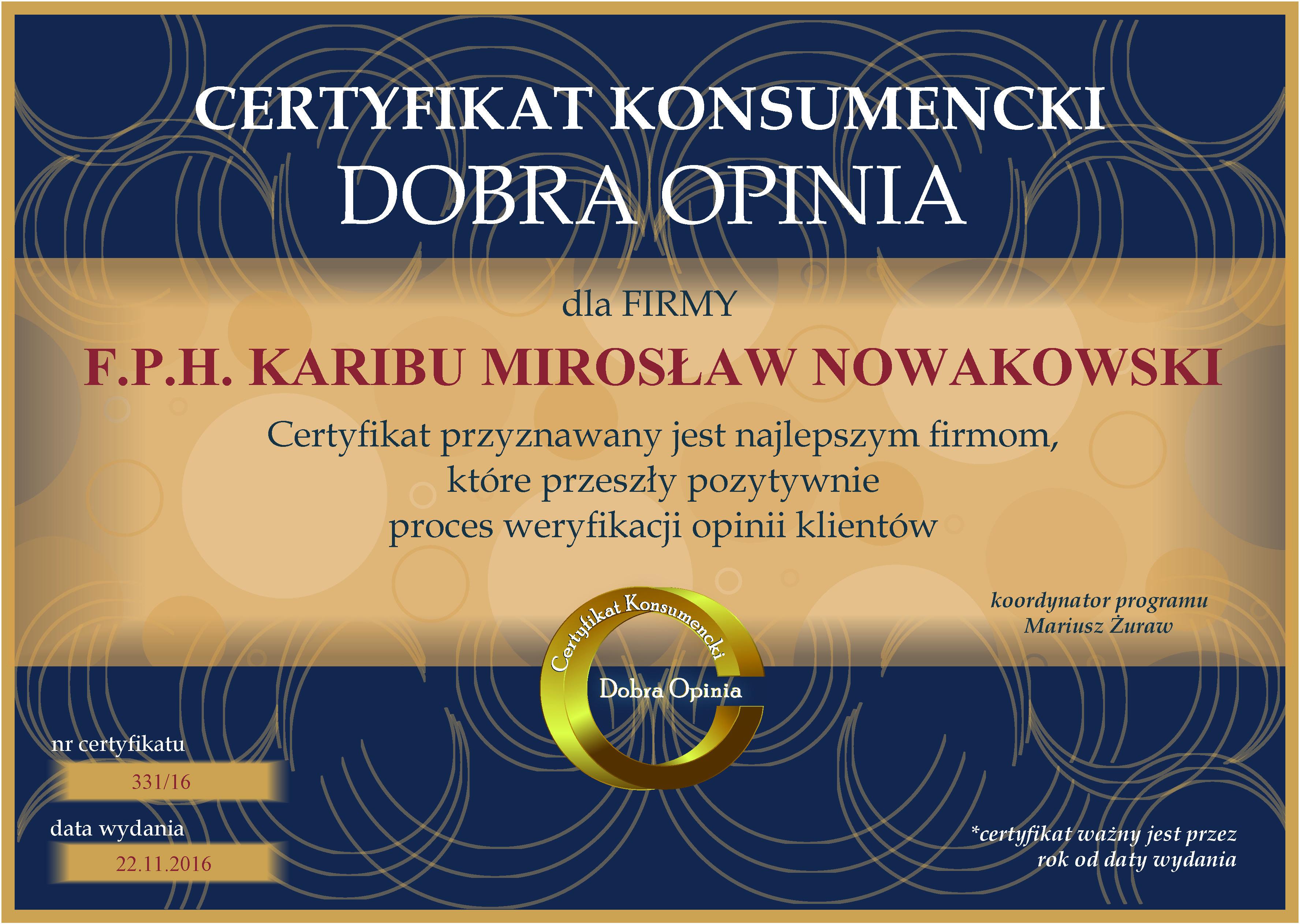 F.P.H. Karibu Mirosław Nowakowski
